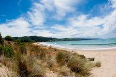 Australisch strand - de baai van Apollo - Melbourne Royalty-vrije Stock Afbeeldingen