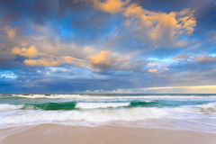 Australisch zeegezicht stock afbeeldingen