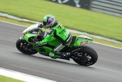 Australische Anthony West Kawasaki Racing 2007 Polin Royalty-vrije Stock Fotografie