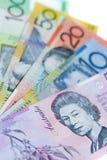 Australische bankbiljetten stock fotografie