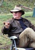 Australische Bosjesman Royalty-vrije Stock Afbeelding