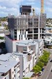 Australische bouwwerf met het schermsysteem in de loop van de dag Royalty-vrije Stock Fotografie