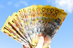 Australische Dollar Stockfotos