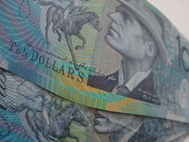 Australische Dollar Lizenzfreies Stockbild
