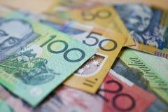 Australische Dollars Royalty-vrije Stock Afbeeldingen