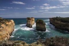 Australische Felsformation stockbild