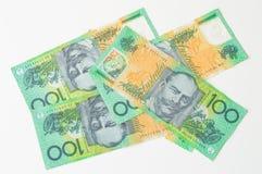 Australische geld- australische Währung Lizenzfreie Stockfotos