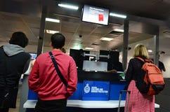Australische Gewohnheiten und Grenzschutzdienst lizenzfreies stockbild