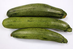 Australische grüne Zucchini Stockfoto