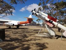Australische Hinterlandsüdraketentechnik Lizenzfreies Stockfoto