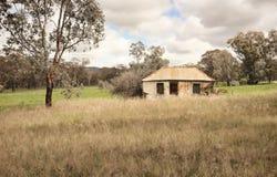 Australische hoeve van vorig jaar stock fotografie