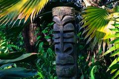 Australische Inheemse Totempaal Stock Afbeelding