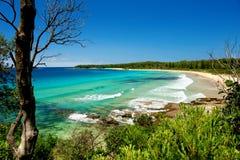 Australische Küstenlinie lizenzfreie stockfotografie