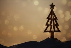 Australische Kerstmis bij het strand royalty-vrije stock afbeeldingen