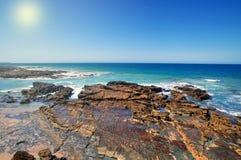 Australische kust Royalty-vrije Stock Afbeeldingen
