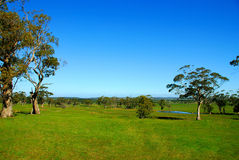 Australische Landschaft. lizenzfreie stockfotos