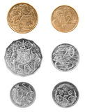 Australische Münzen Stockfotografie