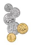 Australische Münzen Stockfotos