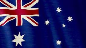 Australische Markierungsfahne stock abbildung
