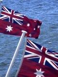 Australische Markierungsfahne Lizenzfreie Stockfotografie