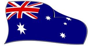 Australische Markierungsfahne Lizenzfreies Stockbild
