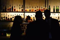 Australische mensen in een bar Royalty-vrije Stock Fotografie