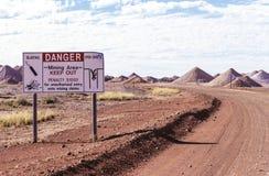 Australische Mijnbouwgebieden Royalty-vrije Stock Foto's