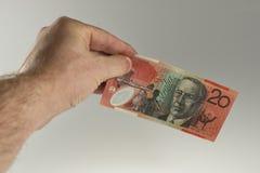 Australische munt Stock Fotografie