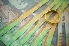 Australische munt Royalty-vrije Stock Afbeelding