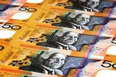 Australische Munt Royalty-vrije Stock Fotografie