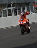 Australische Ontpitter Casey van de winnaar van Ducati Marlboro Stock Afbeelding