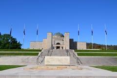 Australische Oorlog Herdenkingscanberra royalty-vrije stock fotografie