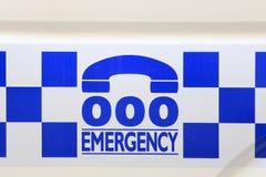 Australische Polizei Stockfotografie