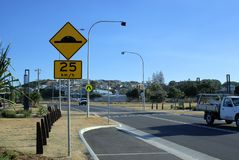 Australische straat of Straat in Australië Royalty-vrije Stock Foto