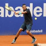 Australische tennisspeler Nick Kirgios Stock Afbeeldingen