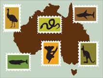 Australische Tiere stockfoto
