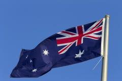 Australische Vlag royalty-vrije stock foto
