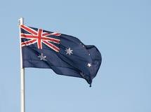 Australische vlag Stock Foto's