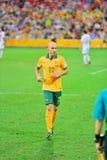 Australische Voetbalster Royalty-vrije Stock Afbeelding