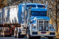 Australische vrachtwagen in Dubbo Australië stock fotografie