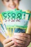 Australische Währung Lizenzfreies Stockbild