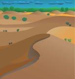 Australische Wüste Stockfotos
