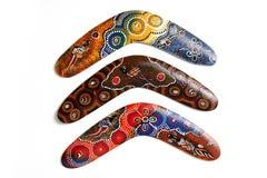 Australischer Boomerang. Stockfotografie