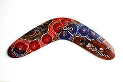 Australischer Boomerang Lizenzfreies Stockbild