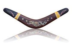 Australischer Bumerang lizenzfreie stockbilder
