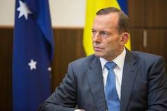 Australischer Premierminister Tony Abbott stockbilder