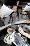 Australischer Schauspieler Sam Worthington an LOCKEREM stockfoto