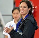 Australischer Schwimmer Emily SEEBOHM AUS Lizenzfreie Stockbilder