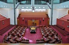 Australischer Senat lizenzfreie stockfotos