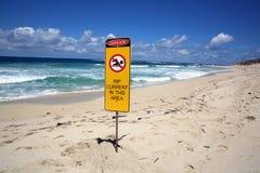 Australischer Strand stockbild